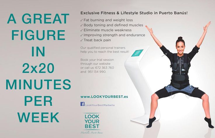A great figure in 2 x 20 minutes per week!