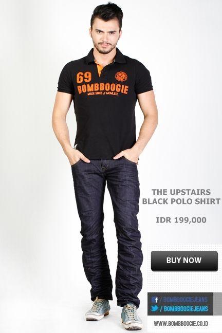 Polo Shirt ? Cobain dari boomboogie ini mas bro looks Cool, IDR 199,000 >> http://ow.ly/ufl7L