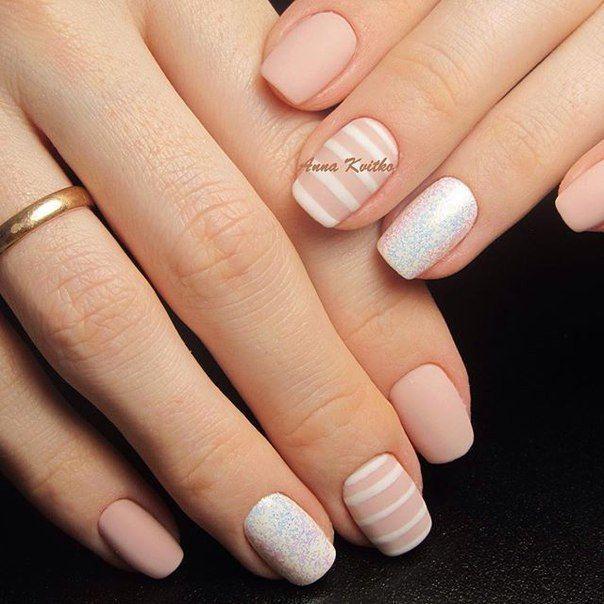 Маникюр. Дизайн ногтей. Art Simple Nail miascollection.com