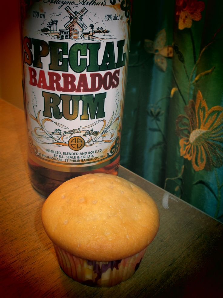 Cupcake de rum