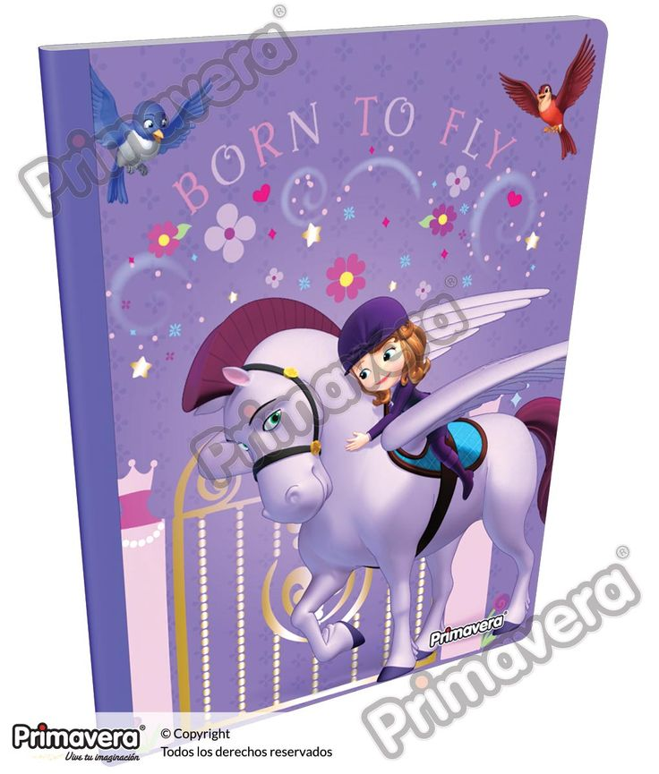Cuaderno Cosido Infantil Princesita Sofía http://escolar.papelesprimavera.com/product/cuaderno-cosido-infantil-sofia-primavera-8/