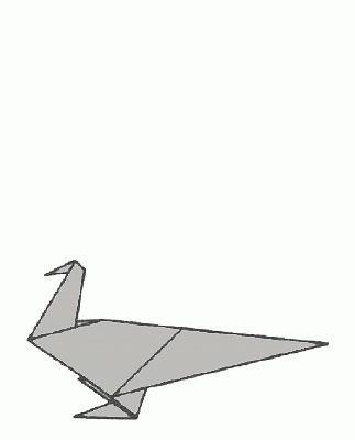 Schemi di origami - Uccelli (live)