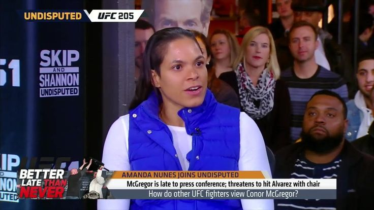 "Amanda Nunes predicts she'll beat Ronda Rousey in the first round at UFC 207 (on Dec. 30) and force Rousey into retirement - ""I know how to block a judo throw an armbar and jiu-jitsu for me is not a problem... This is the fight I've been waiting for my whole career."" https://www.youtube.com/watch?v=-_WQ7JYjzdw"
