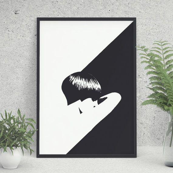 Minimal Printable Art Digital Art Modern Art by KYLprintable