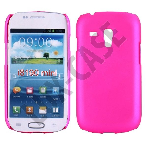 Hard Shell (Sterk Rosa) Samsung Galaxy S3 Mini Deksel