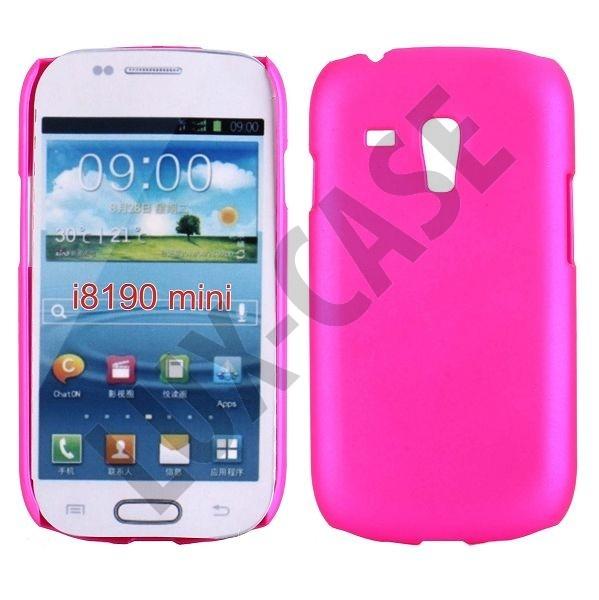 Hard Shell (Sterk Rosa) Samsung Galaxy S3 Mini Deksel