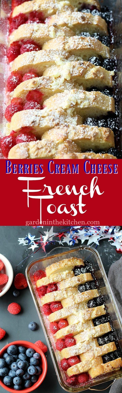 Berries Cream Cheese French Toast   Breakfast Recipe for Kids