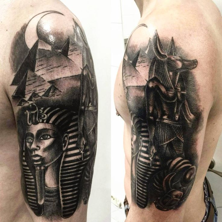 21 best egyptian tattoos and meanings images on pinterest egyptian tattoo egyptian symbols - Tatouage egyptien homme ...