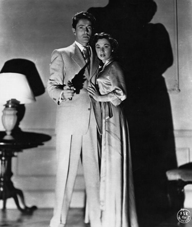 Strangers on a Train (1951), Farley Granger and Ruth Roman