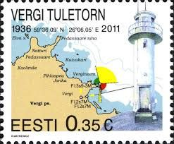 """""""lighthouse on postage stamps"""""""