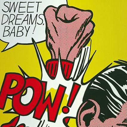 artist analysis on lichtenstein Throughout the 1960s, lichtenstein frequently drew on commercial art sources such as comic images or advertisements, attracted by the way highly emotional subject matter could be depicted using detached techniques.