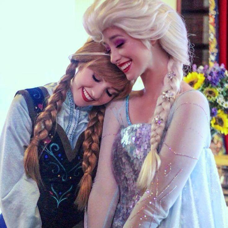 Anna and Elsa, Frozen, Walt Disney World, Royal Sommerhus, Face Characters
