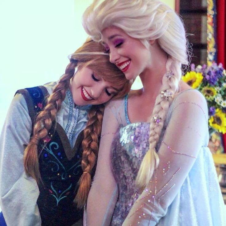 Anna and Elsa, Frozen, Walt Disney World, Royal Sommerhus, Face Characters