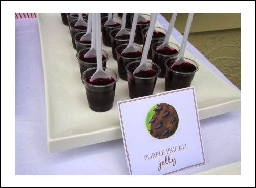 Gruffalo Party Food Purple Prickle Jelly