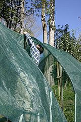 How to Install a Greenhouse Shade Cloth. What they are, why you need them, and how to install them.