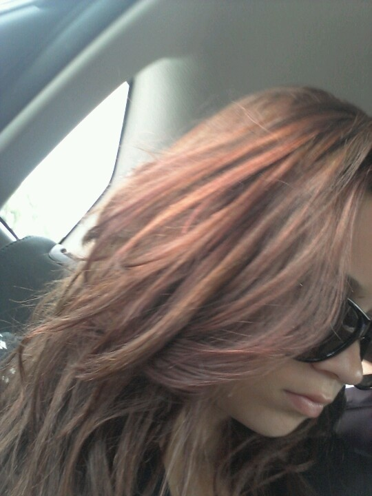 When i dyed my hair