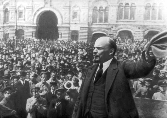 Two revolutions, the first of which, in February (March, New Style), overthrew the imperial government and the second of which, in October (November), placed the Bolsheviks in...