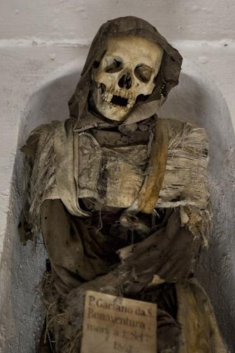 Catacombs, Palermo, Italy
