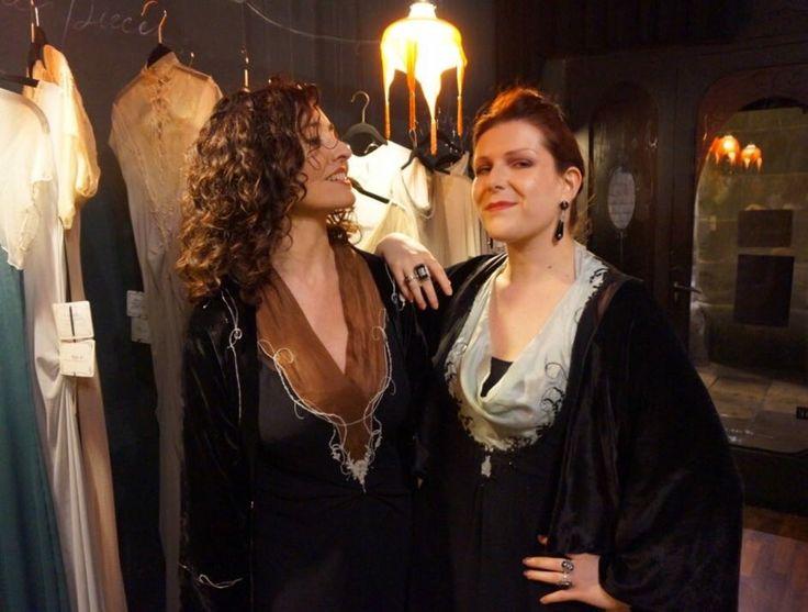 Carmen Martinez and Marine Pierrot en el Atelier, brillando hacia los Gaudí...