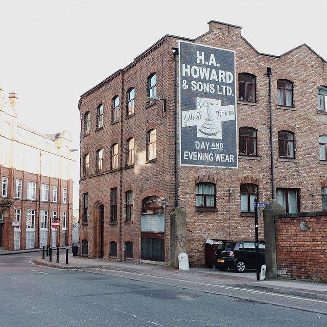 Old sign, Northern Quarter, Manchester, England