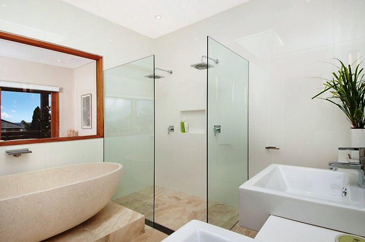 Double Shower & Bath Bathroom