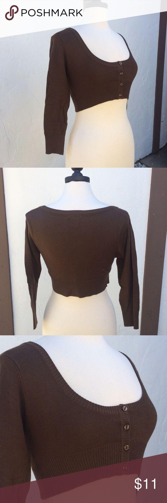 Body Central Cropped Sweater Preloved Body Central Cropped Sweater - 80% Acrylic 20% Nylon Body Central Sweaters