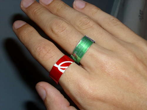 Make a Soda Can Ring
