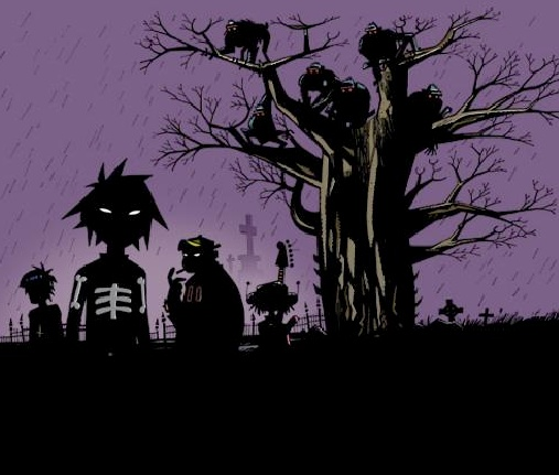 Gorillaz are so freaky and awesome!