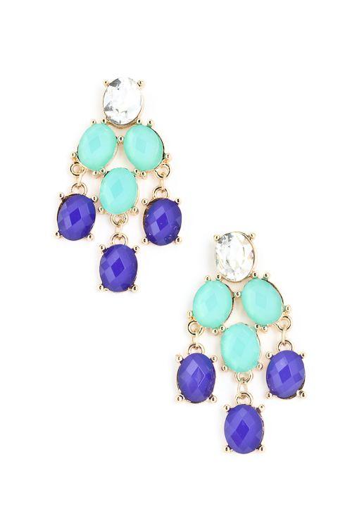 Hannah Chandelier Earrings