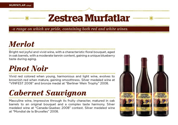 A wealth of red wines by Romania's Murfatlar.