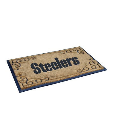 Take a look at this Pittsburgh Steelers Doormat by NFL Game Day: Tailgating Essentials on #zulily today!