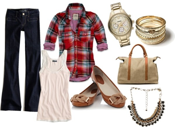 """Girl Next Door"" by acason21 on Polyvore"