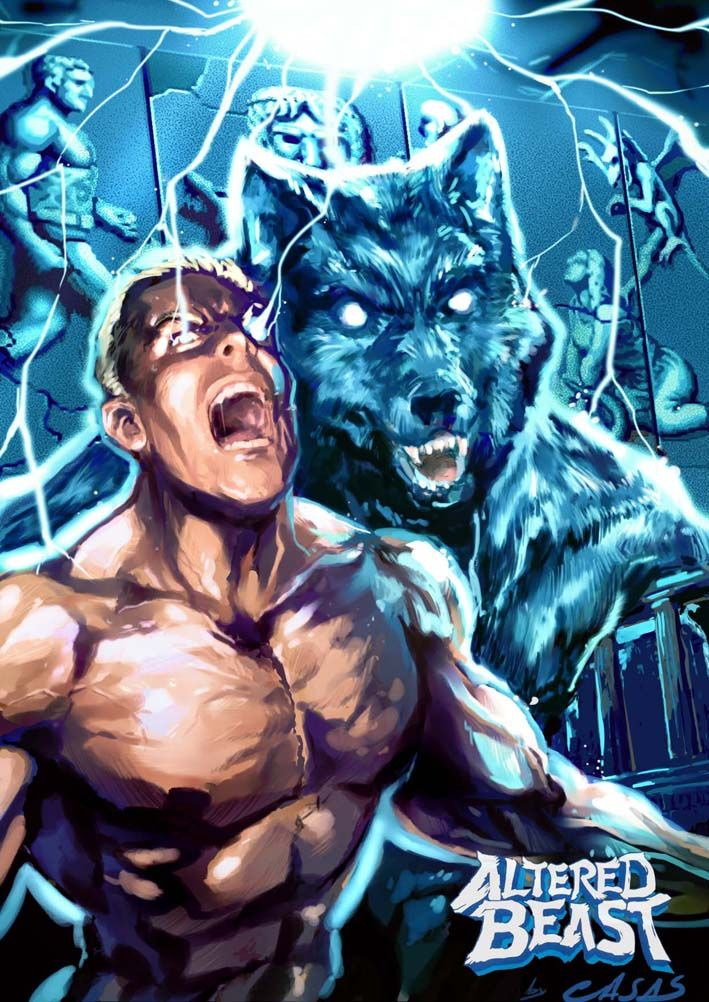 17 best images about altered beast on pinterest arcade for Altered beast