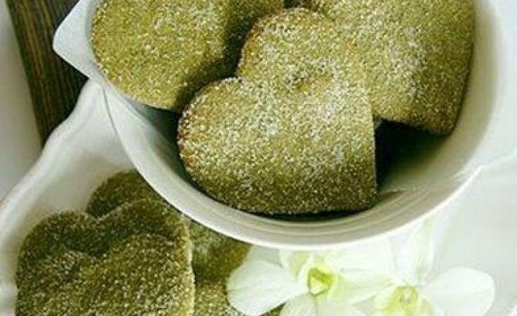 Biscotti vegani al té verde facilissimi