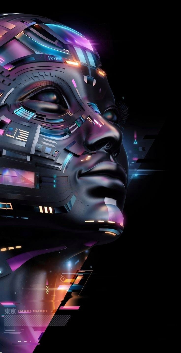 Ghost Shell Technology Wallpaper Cool Wallpapers For Phones Ghost In The Shell