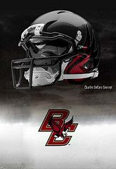Boston College football helmets