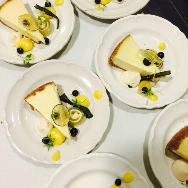 Cheesecake limoen & groene thee