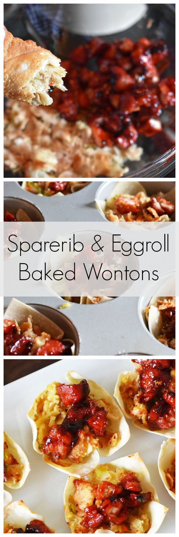 Chinese Spare Ribs and Egg Roll Wontons Recipe. #EggRollWithIt #ad