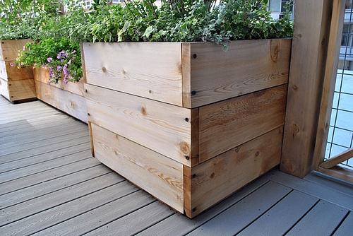 Custom Container for Roof Deck