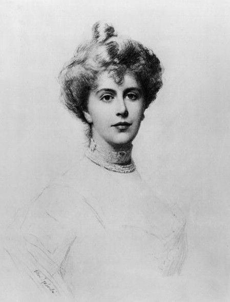 Alice Keppel  -   любовница  короля  Эдуарда   VII ,  прабабушка   Камиллы  Паркер  Боулз,  жены  принца  Чарльза.