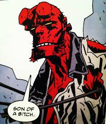 Image result for hellboy COMIC ART