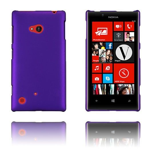 Hard Shell (Lilla) Nokia Lumia 720 Etui