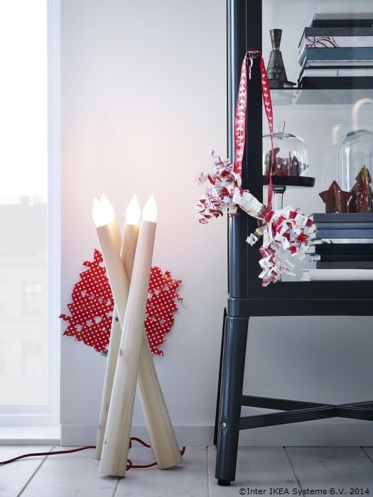 New christmas holiday decorations by ikea