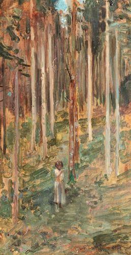 Padure de mesteceni 1902
