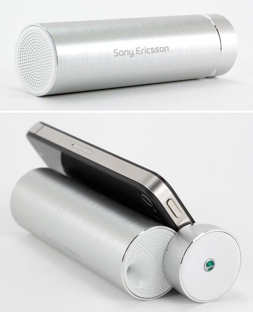 Sony Ericsson Media Sperker Stand 【 MS430 】 - おしゃれ家電メモログ