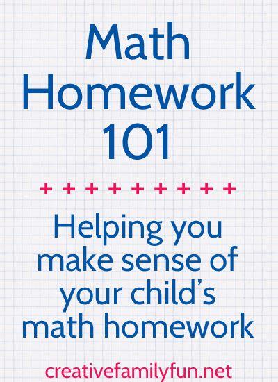 Math fun homework help