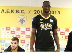 Η νέα εμφάνιση της ομάδας μπάσκετ της ΑΕΚ.