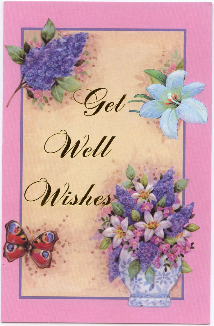 Sweet Get Well Sayings | To view links or images in signatures your post count must be 5 or ...