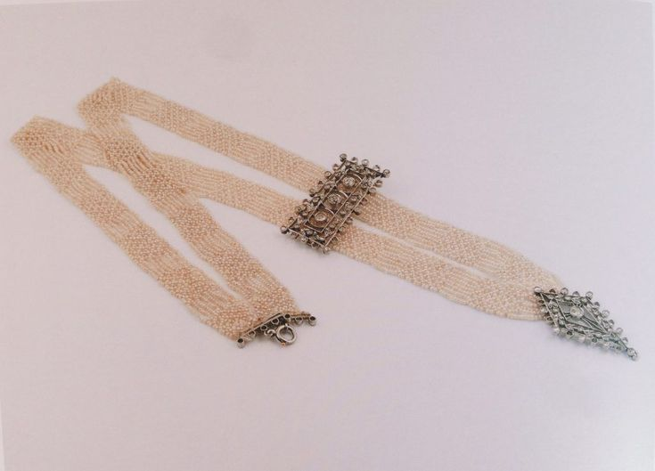 Necklace by Alfredo Ravasco. 1910