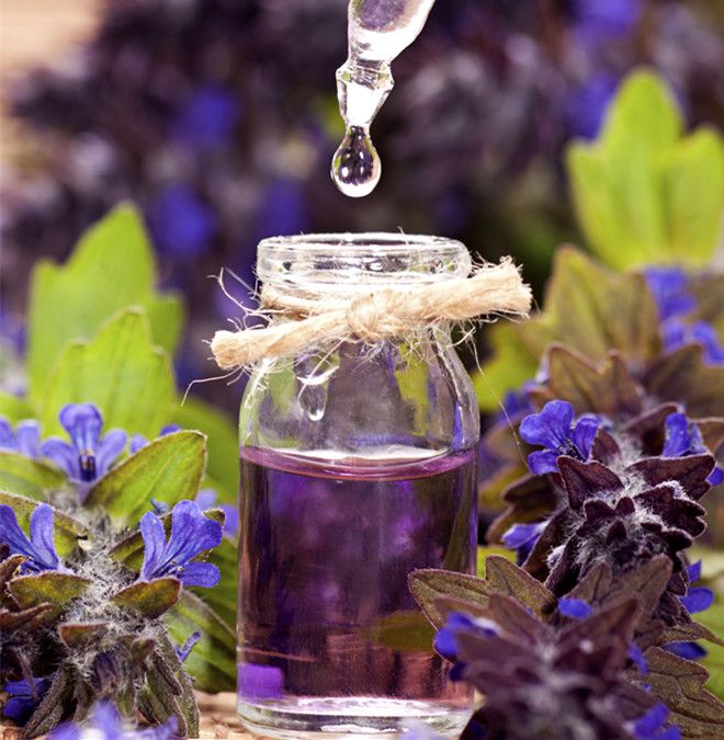 Essential oils to help with an under active thyroid